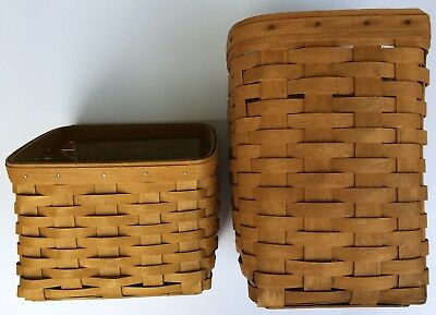 Lot of 2 Longaberger Baskets To Support 2019 Youth Activity
