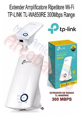 Ripetitore Extender Amplificatore Wi Fi  TP LINK TL WA850RE 300Mbps