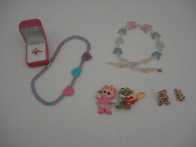 Small Girl's Avon Jewelry Collection