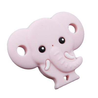 Baby Silicone Elephant Shape Dummy Soother Pacifier Orthodontic BPA Free LH