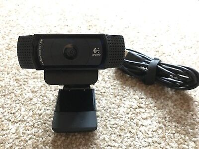 Carl Zeiss Tessar LOGITECH Pro C920 Full HD Webcam 1080p in VGC.