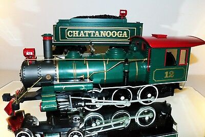 Bachmann G Scale 4-6-0 Chattanooga w Tender TESTED & RUNNING But Has Issues
