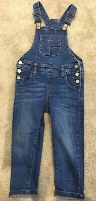 M&S kids Dungarees Denim age 2-3 years marks and Spencer