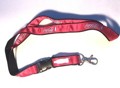 coca cola - lanyard - red/black - new - offizielles Schlüsselband - World Cup