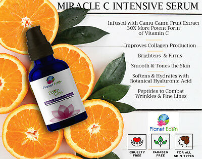 Vitamin C Serum With Camu Camu Extract -200% More Potent Vitamin C for Wrinkles