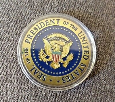 Donald Trump 2020 Keep America Great! Presidential Seal Gold Challenge Coin