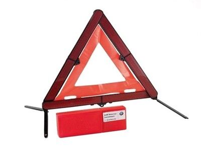 Mercedes / BMW Genuine Trimco Emergency Safety Warning Triangle + Case