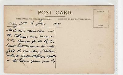 Picture postcard of Maidens Ayrshire with interesting message (C36508)