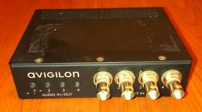 Avigilon ENC-4P-H264 4CH 4x Audio In/Out Network Video Encoder