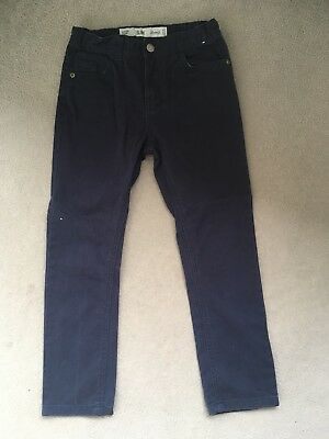Boys Navy Jeans Age 8-9 Years Slim Fit