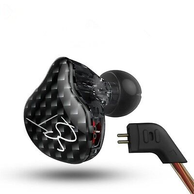 Easy KZ ZST Hybrid Banlance Armature with Dynamic In-ear Earphone 1BA+1DD Hifi
