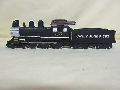 Ezra Brooks Casey Jones Locomotive / Train Decanter 1980