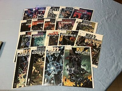 Image Comics KISS Psycho Circus Lot Of 19