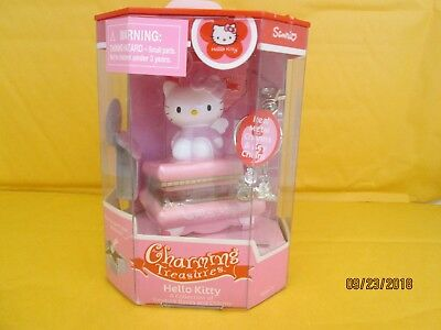 Charming Treasures Hello Kitty Treasure Boxes and Charms