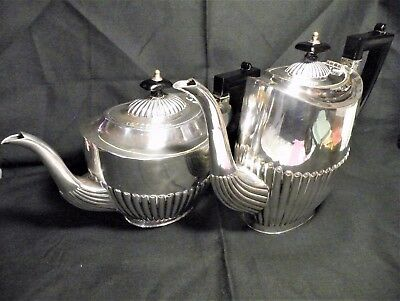 Vintage Cheltenham and Co. Sheffield England Silverplate Coffee and Tea Pots