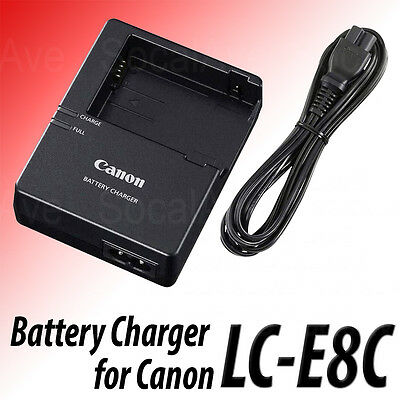 LC-E8C LC-E8E battery Charger for Canon LP-E8 Battery Rebel T2i T3i EOS 550D