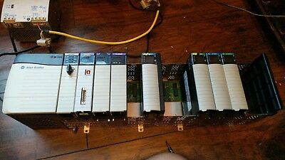 1756-PB72 with 1756-A13 Rack 1756-L61 1756-ENBT  1756-DNB All Included. Complete
