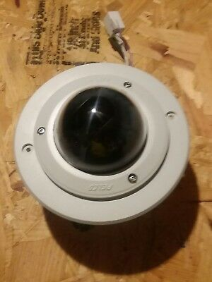 Pelco IP110 ENC IS-DWV9 IP Network Camera and Dome Enclosure w/ recess ring