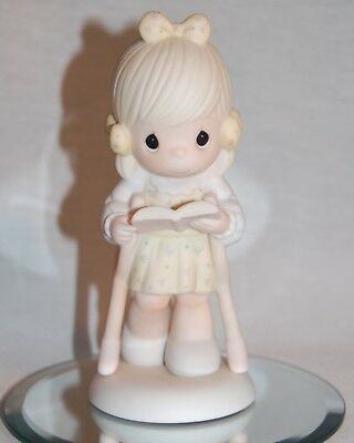 "Precious Moments 107999 ""he Walks With Me""  Special 1987 Limited Edition  ;"