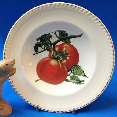 Vintage 60's Johnson Aust, Sovereign - 22cm Broad Rimmed Bowl - Summer Tomatoes