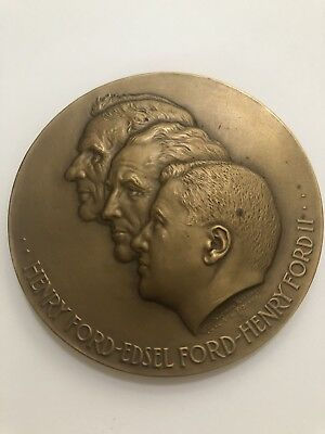 Ford 50 Years On The American Road Bronze Medal 1903-1953