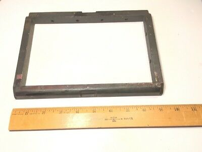 """5"""" x 8"""" Iron/steel Chase parts for Letterpress Printing Press - Kelsey Model U?"""