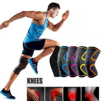 2 x Knee Brace Support Pad Compression Guard Arthritis Pain Gym Sports Protector