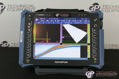 Olympus OmniScan MX2 16:64PR Ultrasonic Phased Array Flaw Detector Panametrics
