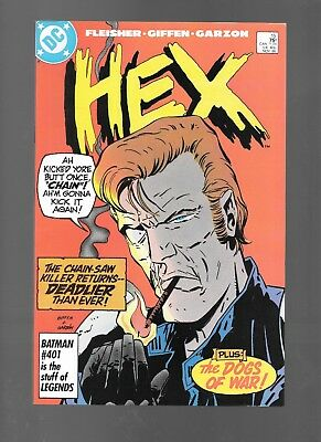 Hex #15 (Nov, 1986) Guest-Starring the Dogs of War! Keith Giffen Art VF+ 8.5