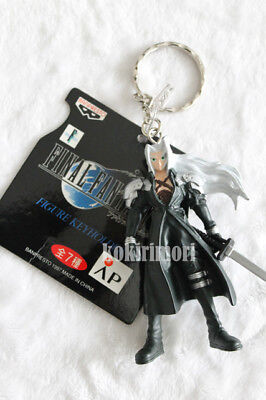 Final Fantasy VII 7 FF7 Sephiroth Banpresto Keychain OFFICIAL Square NEW Cosplay