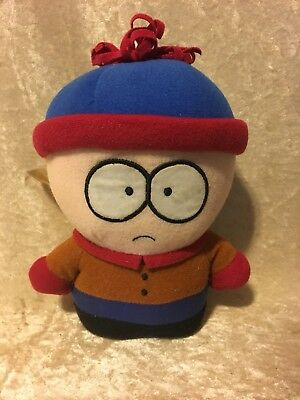 """South Park STAN 6"""" Suction Cup Plush Toy Doll 2002"""