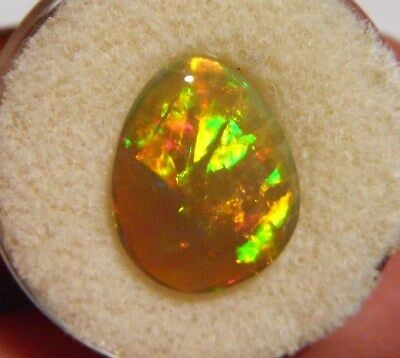 Top Gem Quality Dark Crystal Double Sided Solid Opal