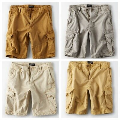 American Eagle Outfitters Men's Ripstop Cargo Shorts - Various - Sizes 35-48 NWT