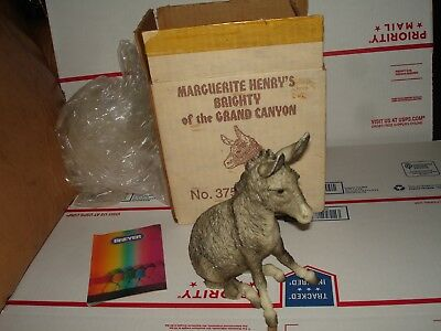 Vintage Breyer no 375 Marguerite Henry's Brighty of the Grand Canyon   in box