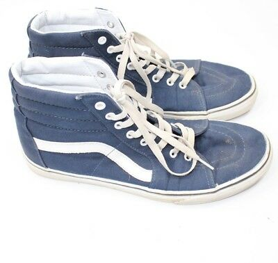 VANS OFF THE WALL Sneakers Shoes Men's Size 11 #721500 - Blue Laceup Skateboard
