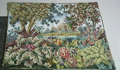 Needlepoint tapestry wool  handmade French design beautiful view