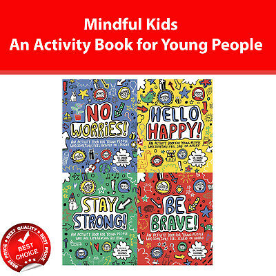 Mindful Kids An Activity Book for Young People by Dr. Sharie Coombes Books set