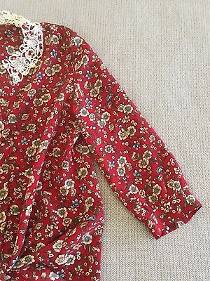 Vintage Up cycled Shirt Top