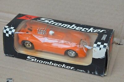 Lola T70 Strombecker France 162214 Slot Electric Car - Free Mondial Relay Point