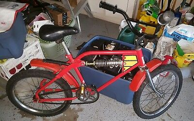 Vintage Huffy Mono Shock Bmx Bicycle 30000 Picclick