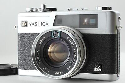 【MINT】Yashica Electro 35 GX 35mm Film Camera w/ 40mm f/1.7 from Japan #876