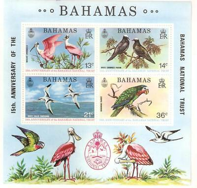 1974   Bahamas  -  Sg  Ms 433  -  National Trust Anniversary  -  Unmounted Mint