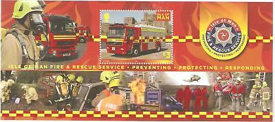 2013    Isle Of Man  -  Sg  Ms  1811  -  Fire & Rescue Service   -  Umm