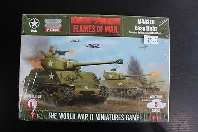 Flames Of War M4A3E8 Easy Eight