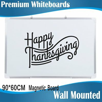 Magnetic Whiteboard Aluminum Frame Office School Home Drawing Inspiration Board