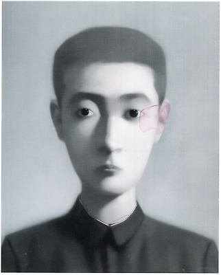 Zhang Xiaogang  boy Bloodlines  print in Canvas 12X16 INCH US