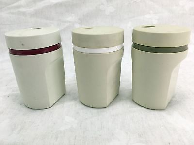 Vintage TUPPERWARE AUSTRALIA Salt - Pepper or Spice Different Colour Twist Top