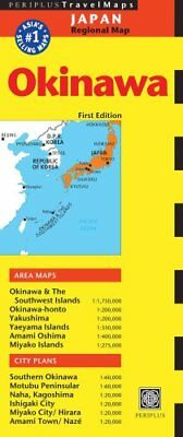 Travel Map Okinawa First Edition by Periplus Editions 9784805313381