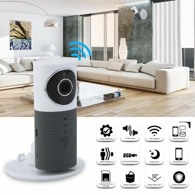 Video Baby Monitor 2 Way Speaker Home Security IP Camera Universal Webcam MY