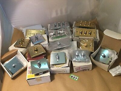 Job Lot of Dimmer Switches. Various Sizes & Colours. Ref 827V